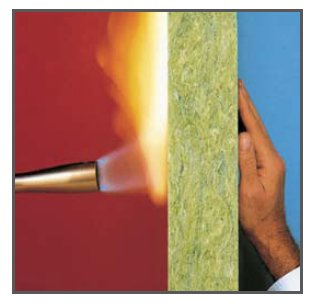 roxul mineral wool fire barrier