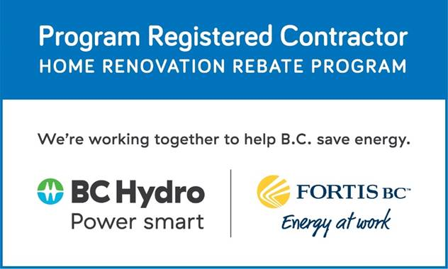 nanaimo insulation program registered contractor bchydro